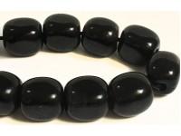 Κομπολόι από Οψιδιανό μαυρο