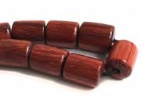 Αρωματικό κομπολόι από ξύλο Σεκόγια κόκκινο