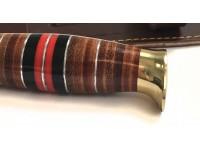 Κρητικό μαχαίρι με λαβή από δέρμα