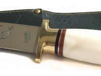 Κρητικό μαχαίρι με λαβή από κόκκαλο