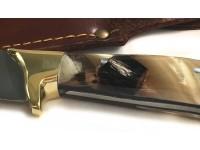 Κρητικό μαχαίρι με λαβή από κέρατο