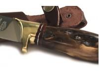 Κρητικό μαχαίρι με λαβή από αγριόξυλο