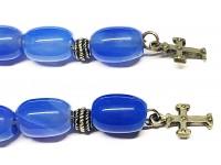 Μπεγλέρι από Αχάτη μπλε