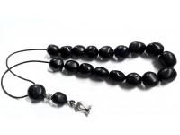 Αρωματικό κομπολόι από μοσχοκάρυδο μαύρο