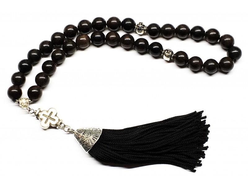 Προσευχητάρι 33άρι από Έβενο