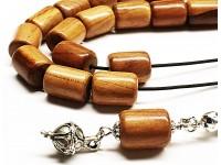 Κομπολόι από ξύλο Βερυκοκιάς