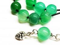Κομπολόι από Αχάτη πράσινο