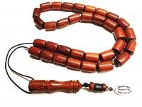 Αρωματικό κομπολόι από ξύλο Σεκόγιας 33 χάντρες