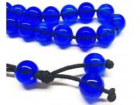 Κομπολόι ρητίνη μπλε