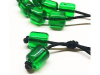 Κομπολόι από ρητίνη πράσινη