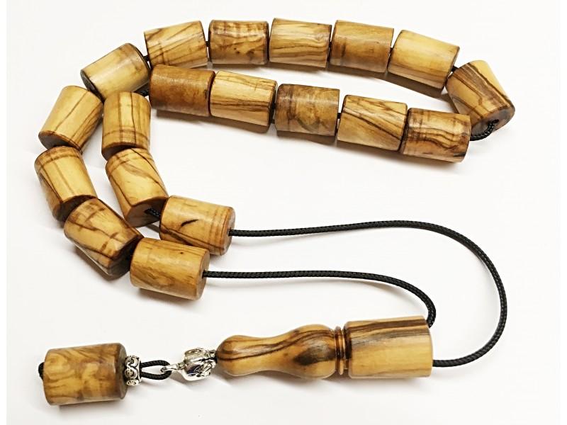 Αρωματικό κομπολόι από Ελληνικό ξύλο ελιάς