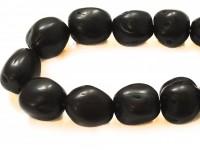 Κομπολόι από αρωματικό μοσχοκάρυδο μαύρο