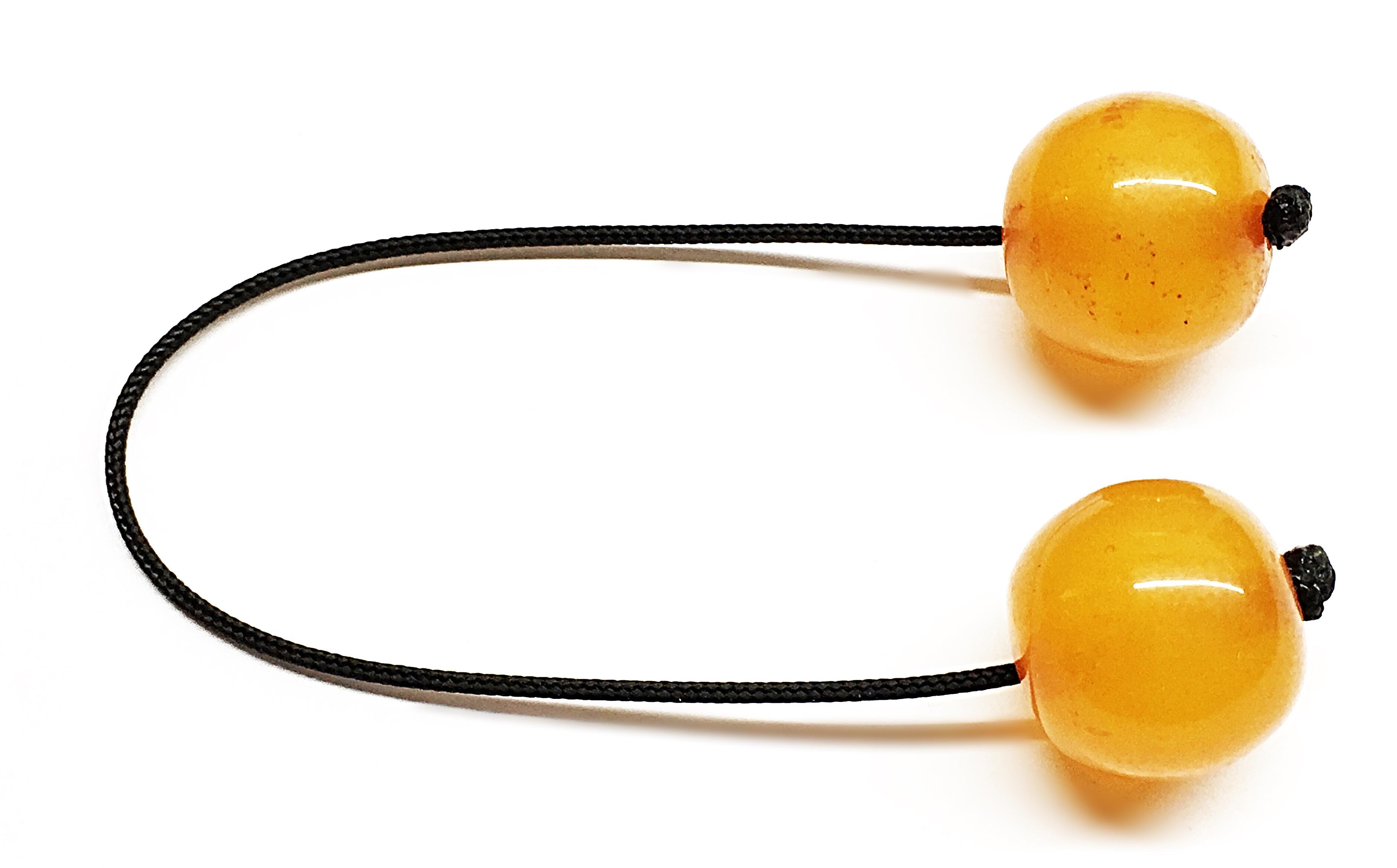 Χειροποίητο Μπεγλέρι από ρητίνη πορτοκαλί