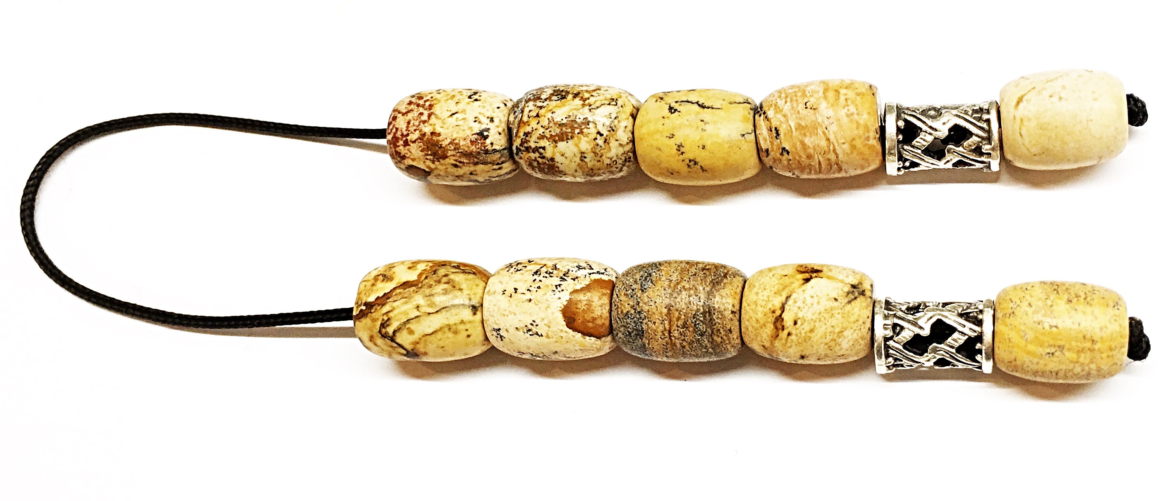Χειροποίητο Μπεγλέρι από απολιθωμένο ξύλο (Ίασπις)